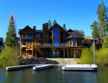 Lake arrowhead vacation rentals big bear cool cabins Big bear lakefront cabins for rent