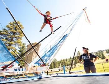 Bungee at Big Bear Basecamp Snow Summit