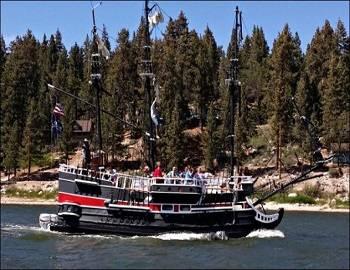 Pirate Cruise Tours in Big Bear