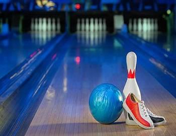 Neon Bowling in Big Bear
