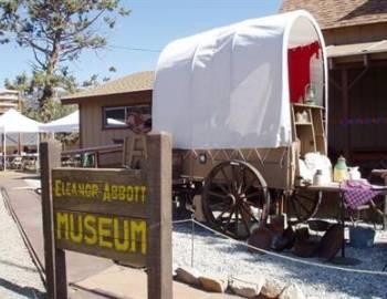Wagon at the Big Bear Museum