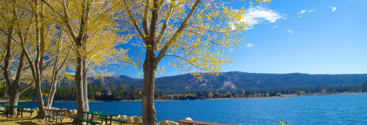 Fall Colors in Big Bear Lake