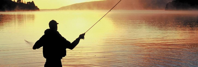 Sunset Fishing in Big Bear