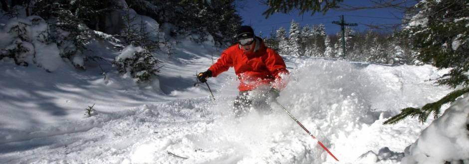 fresh powder, big bear ski