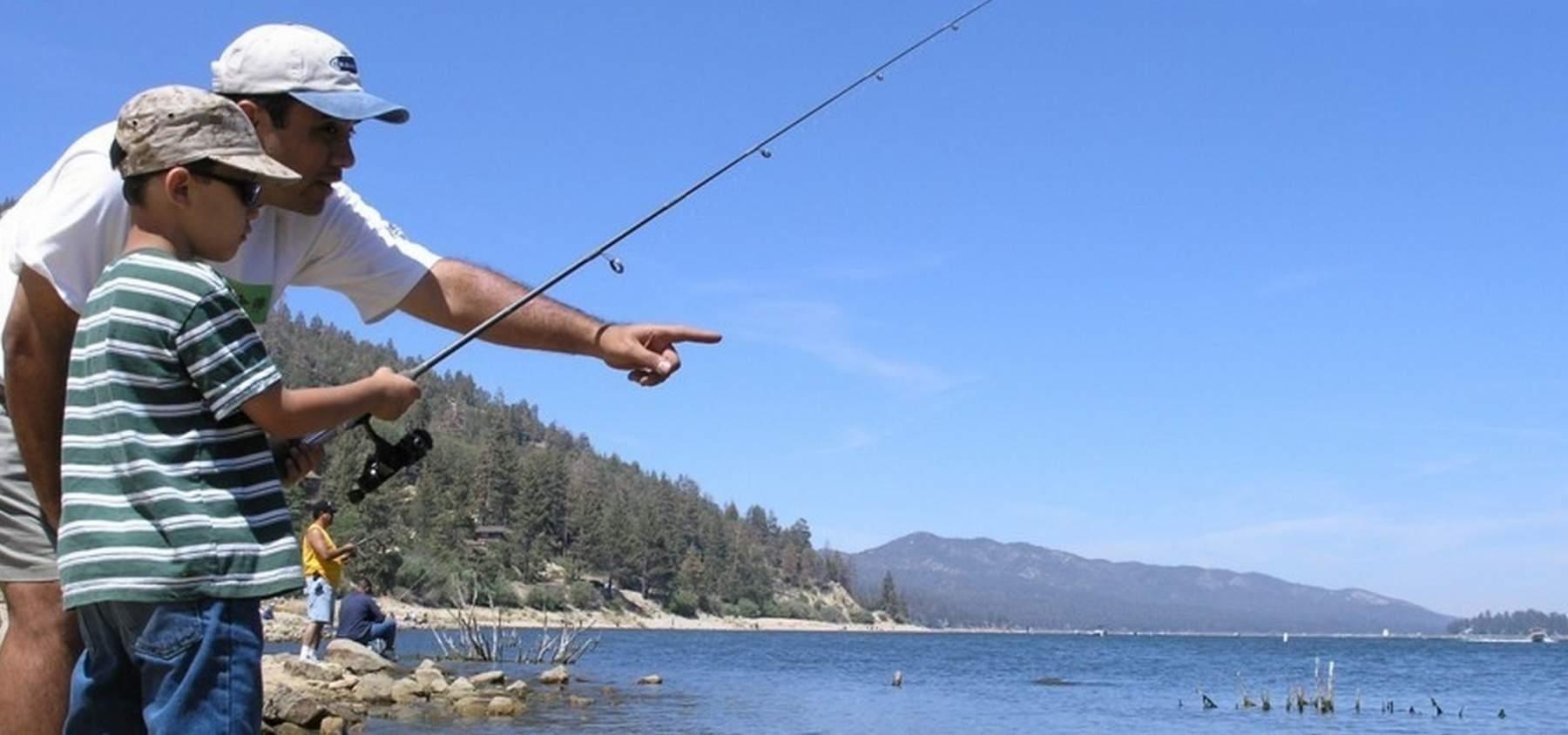 Fishing Big Bear Lake