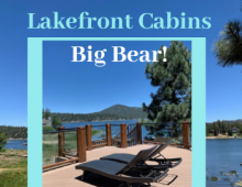 Lakefront Cabins in Big Bear