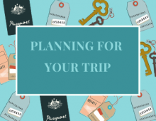 Planning for your trip