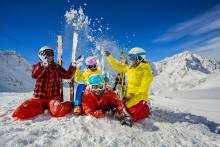 family snow play ski resort big bear ski