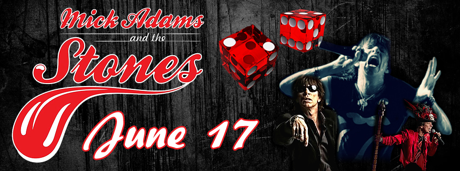 The Cave, Live Music, Tribute Band, The Rolling Stones, Mick Adams and the Stones,
